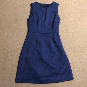 Blue Jcrew Aline Dress